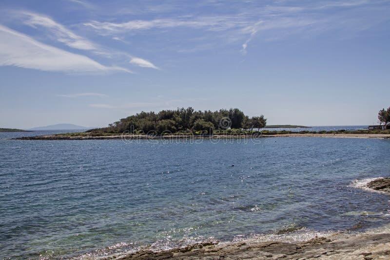 Kamenjak półwysep w Istria fotografia stock