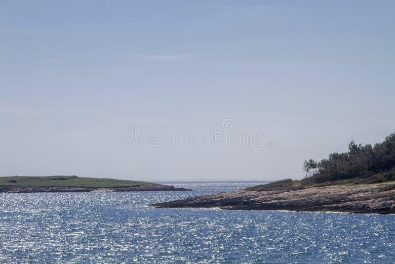 Kamenjak półwysep w Istria obrazy royalty free