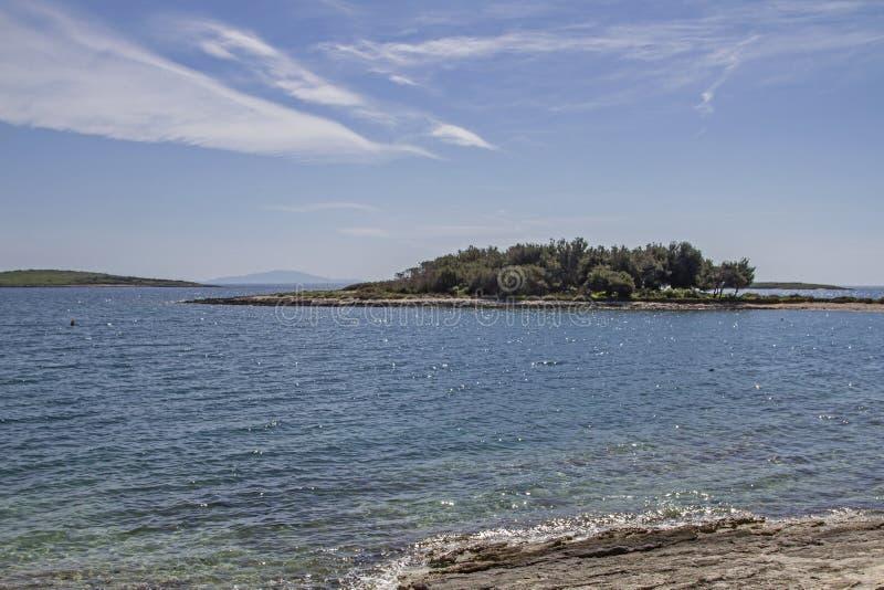Kamenjak półwysep w Istria obraz stock