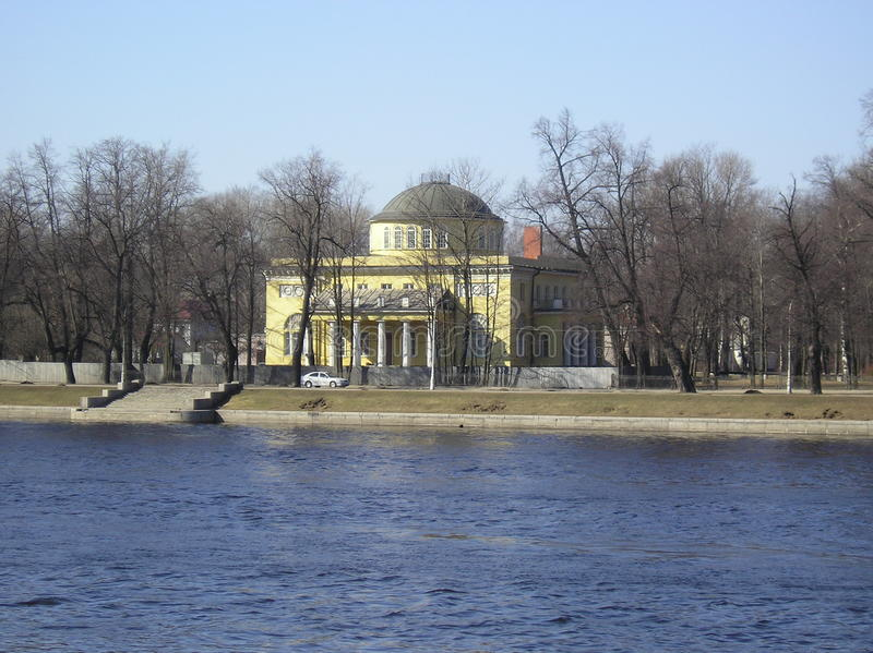 Kamenny Island stock image