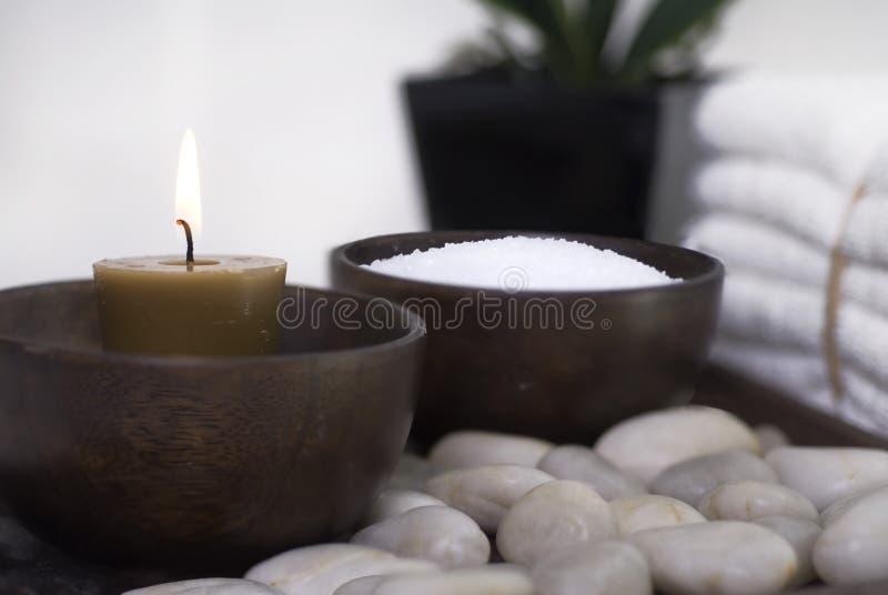kameowy wellness w spa. zdjęcie stock