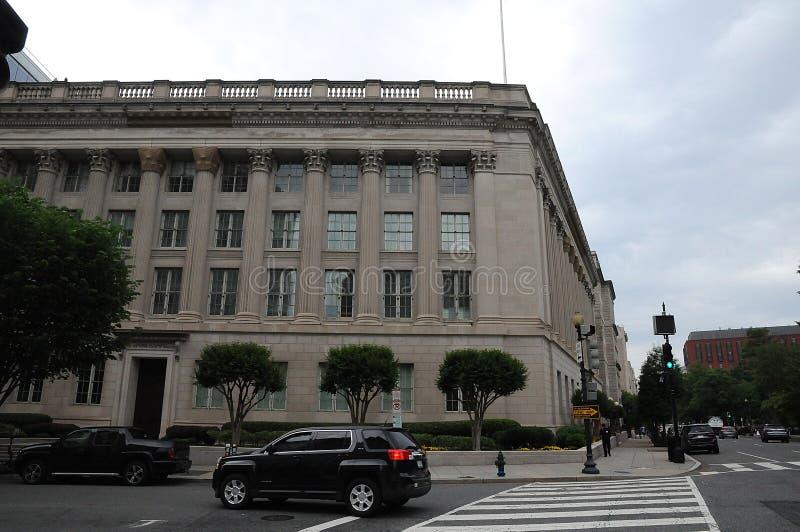 Kamer van Koophandel van de Verenigde Staten van Amerika stock afbeeldingen