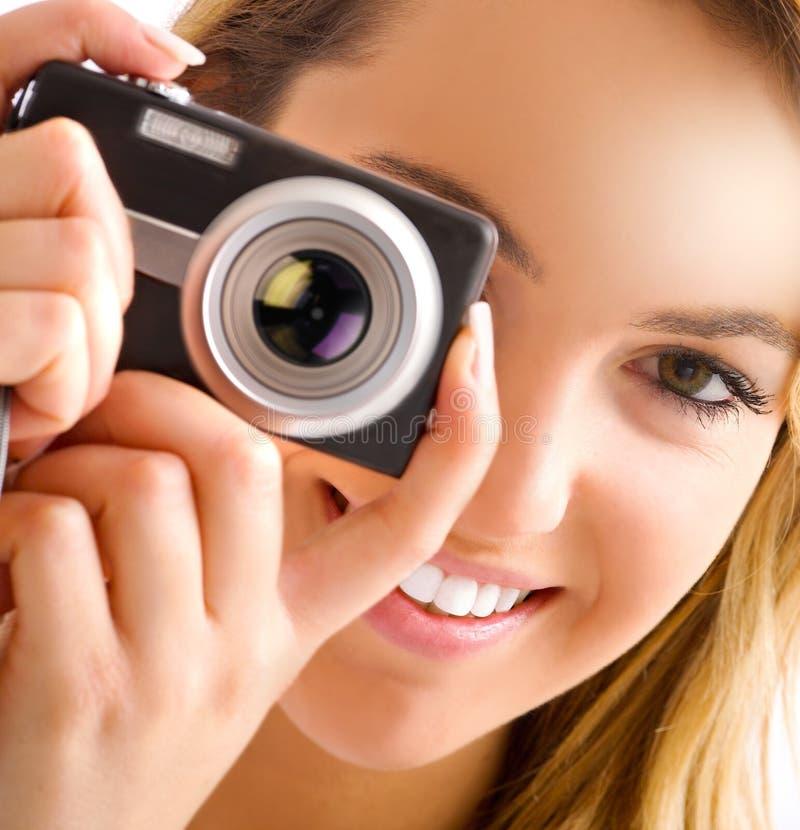 kameraöga arkivfoto