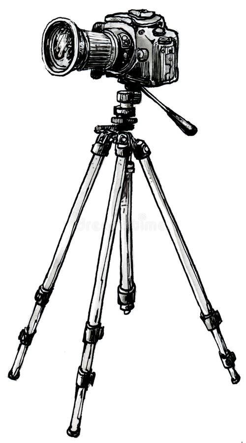 Kamera stock abbildung