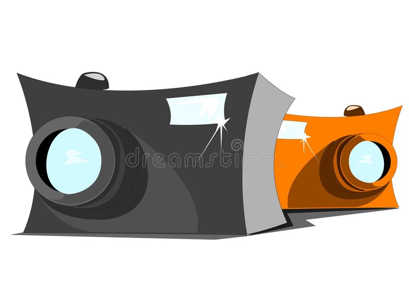 kamera ilustracja wektor