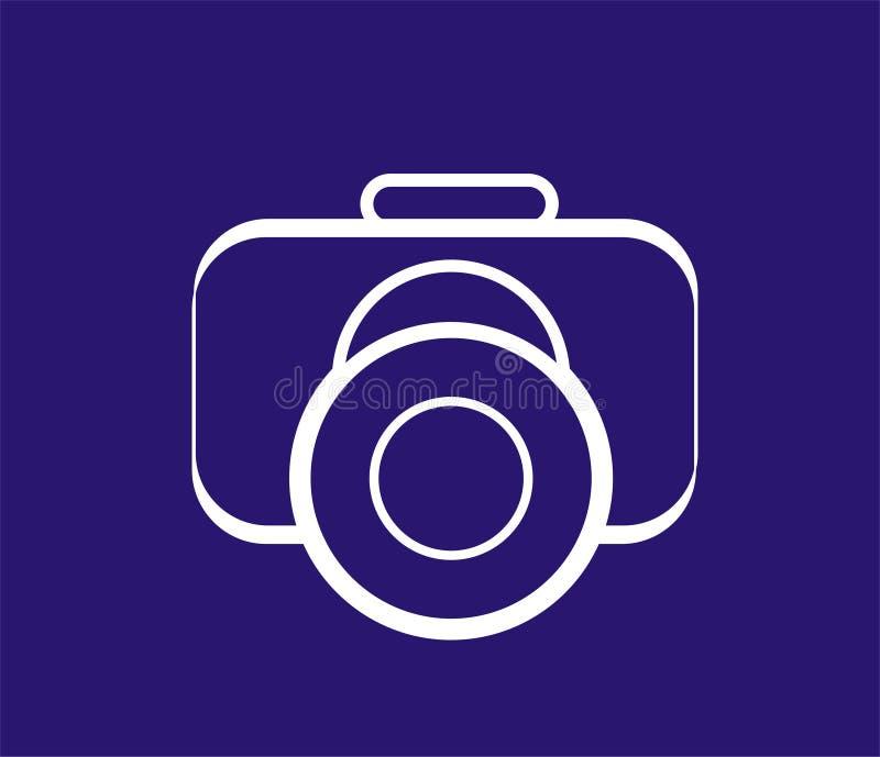 kamera vektor illustrationer