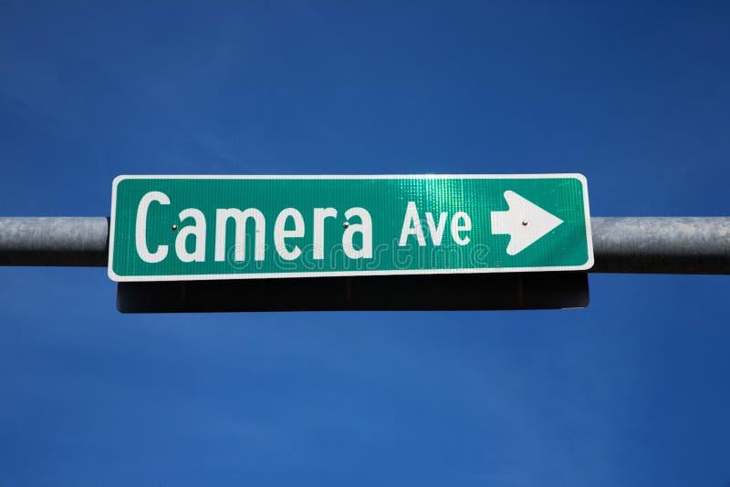 Kamera-Allee   stockbild