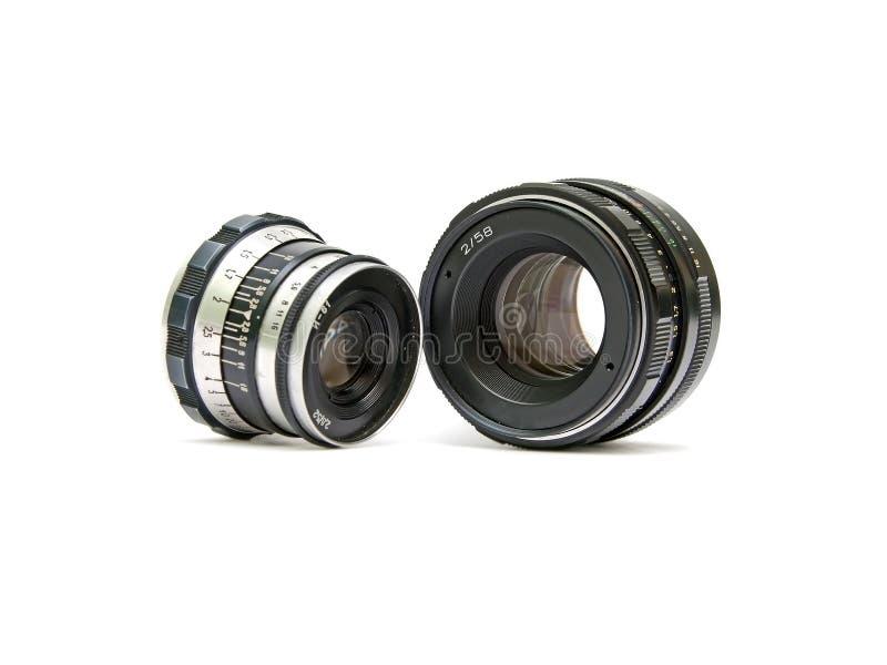 kamera analogowi obiektywy zdjęcie stock