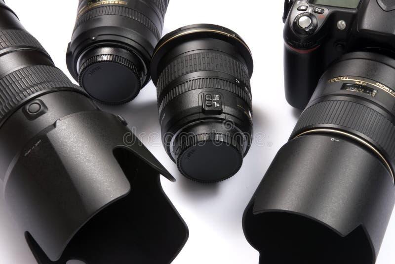 Kamera-Ausrüstung lizenzfreies stockbild