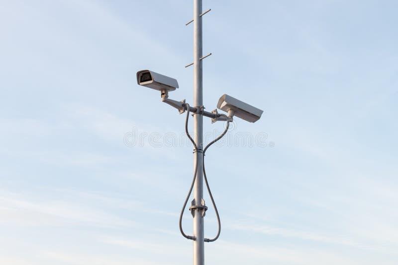 Kamera Bezpieczeństwa lub CCTV zdjęcie stock