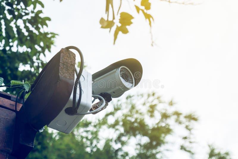 Kamera Bezpieczeństwa lub CCTV fotografia stock