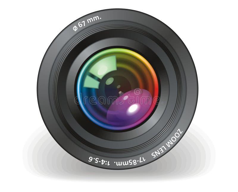 kamera cel ilustracji