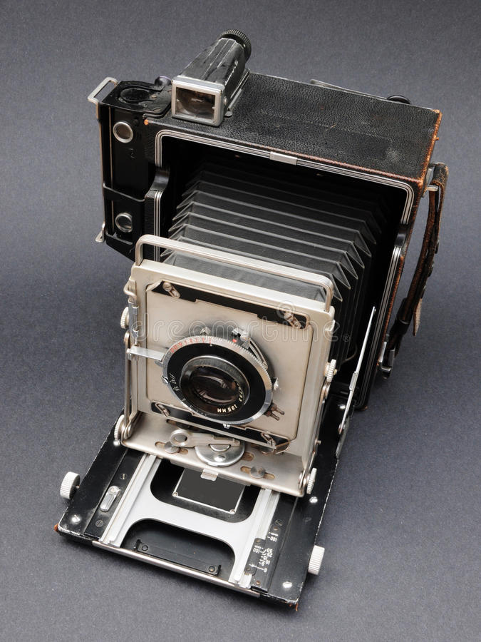 Kamera der Presse-4X5 stockfotos