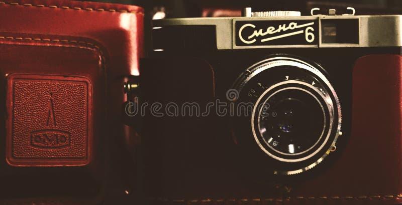 Kamera in der Vergangenheit stockbild