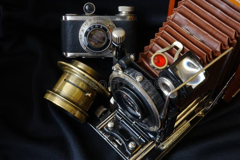 Kamera der Weinlese-35mm SLR lizenzfreies stockbild