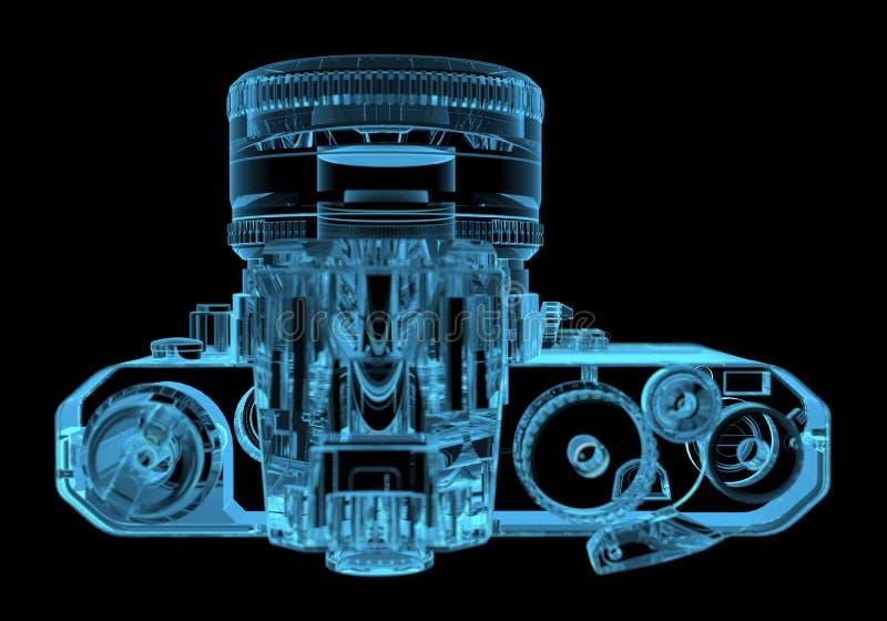 Kamera för DSLR SLR royaltyfri illustrationer