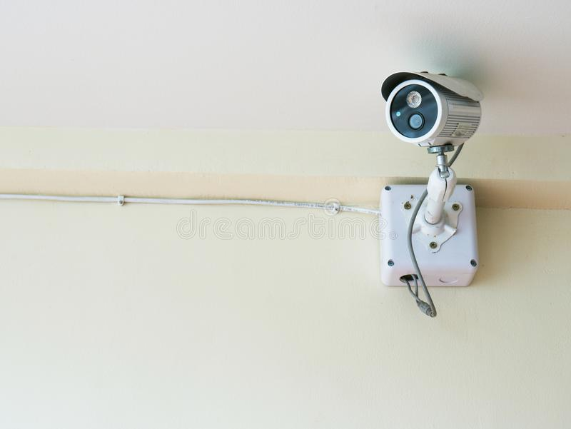 Kamera för hem- säkerhet royaltyfri bild