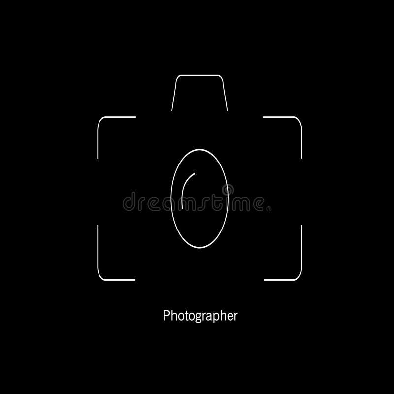 Kamera foto, symbol royaltyfri foto