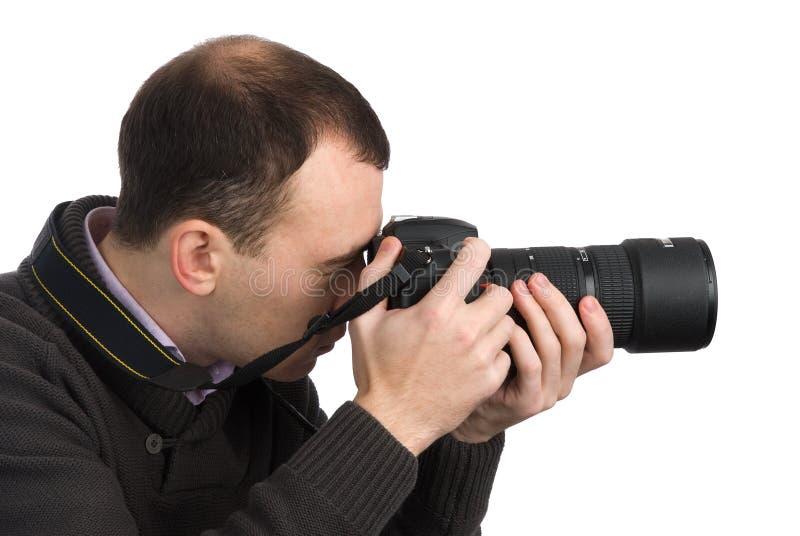 kamera fotograf obrazy royalty free