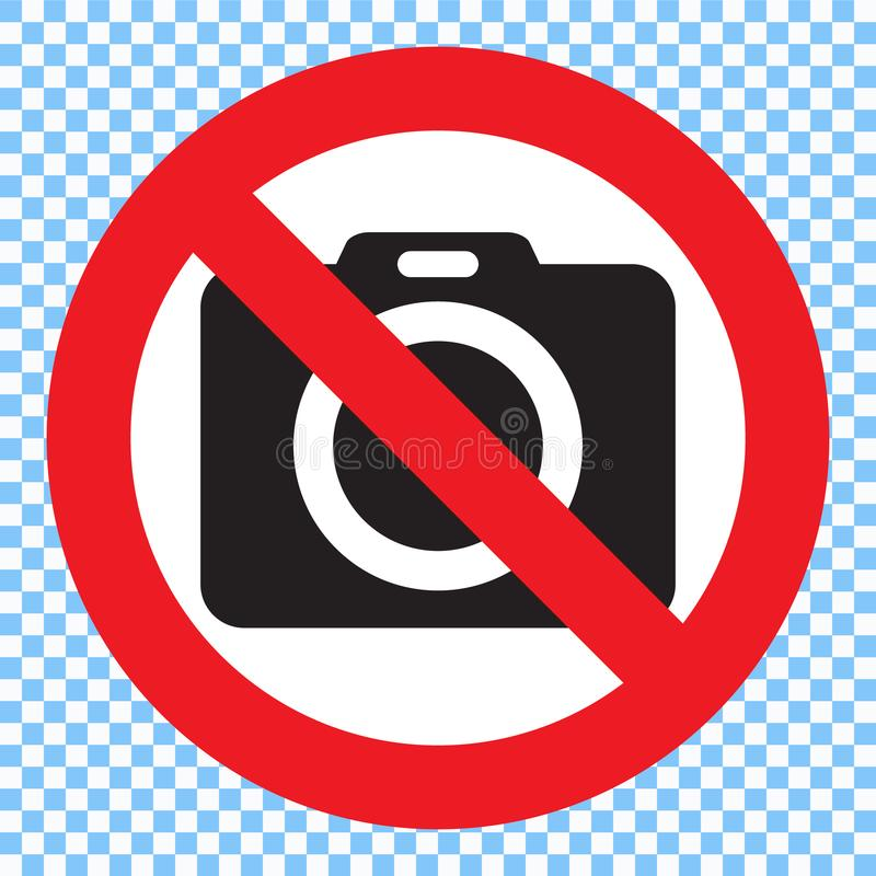 kamera fotografia żadny znak fotografia żadny znak royalty ilustracja