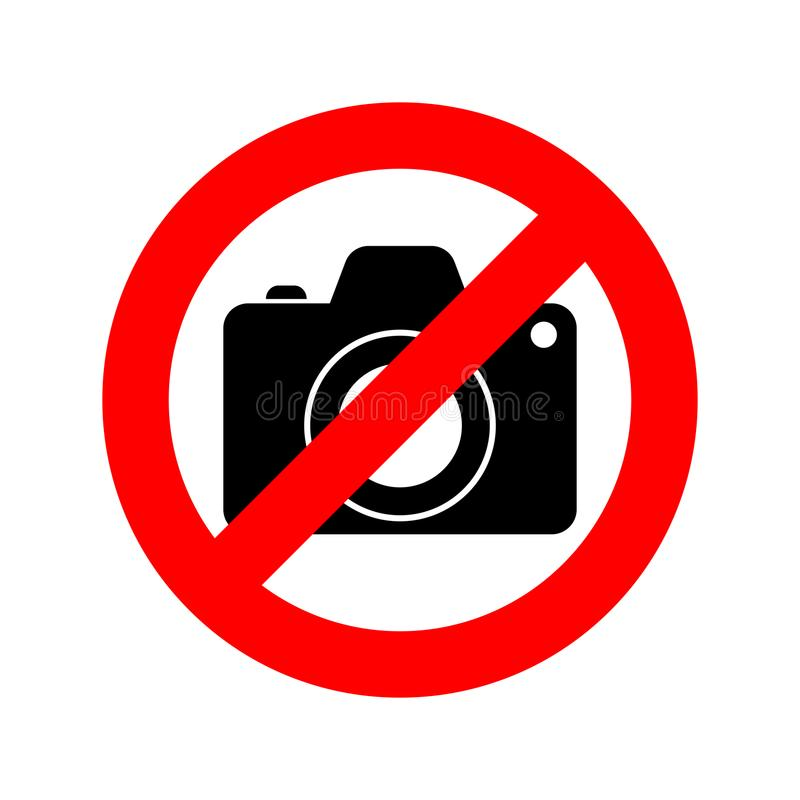 kamera fotografia żadny znak również zwrócić corel ilustracji wektora ilustracji