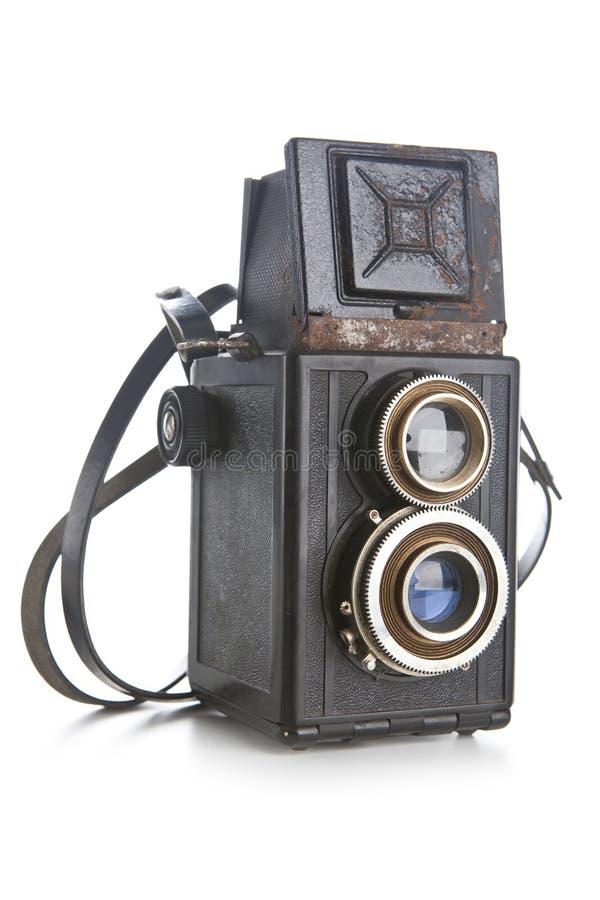 kamera isolerat gammalt royaltyfria foton