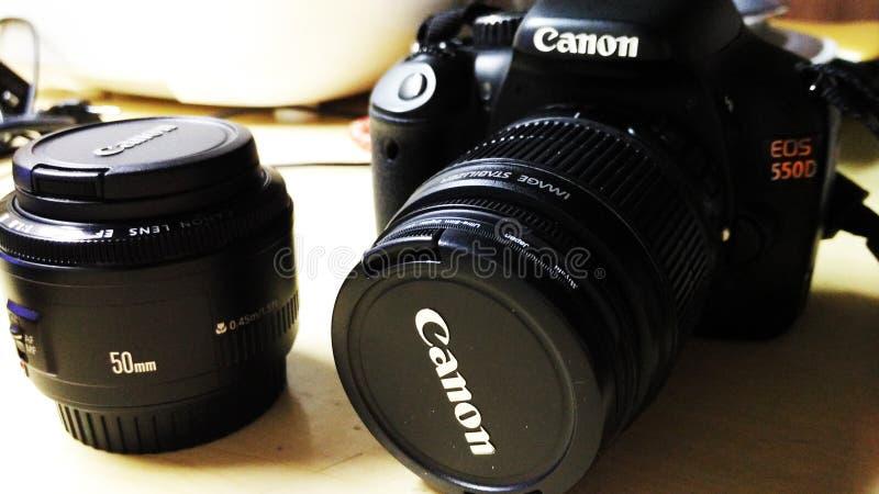 Kamera kanon zdjęcie royalty free