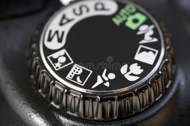 Kamera-Kontrollen lizenzfreie stockfotografie