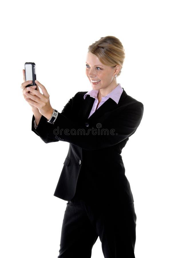 kamera korporacji telefon zdjęcia stock