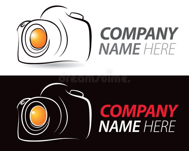 Kamera logo royalty ilustracja