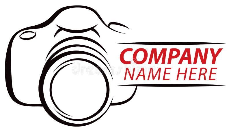 Kamera-Logo lizenzfreie abbildung