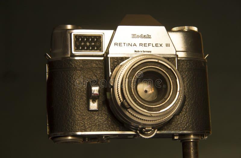 Kamera 35 Millimeter Kodak hergestellt in Deutschland stockbilder