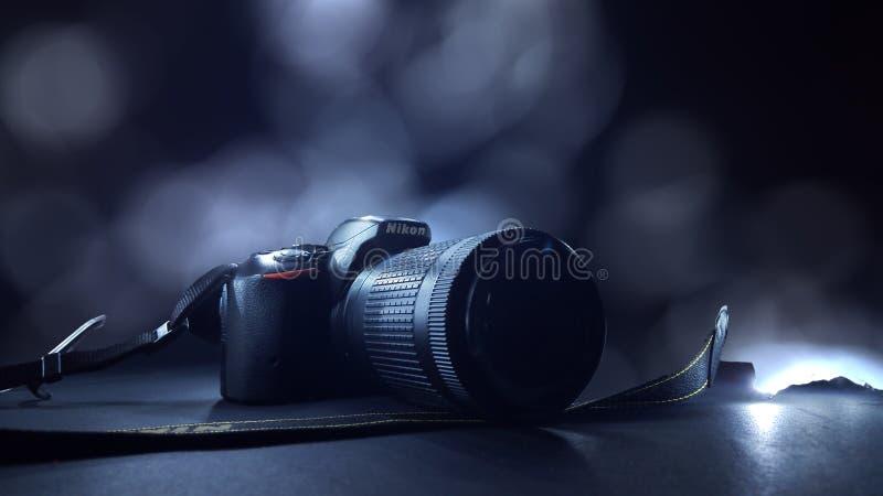 Kamera & x28; Nikon& x29; obrazy royalty free