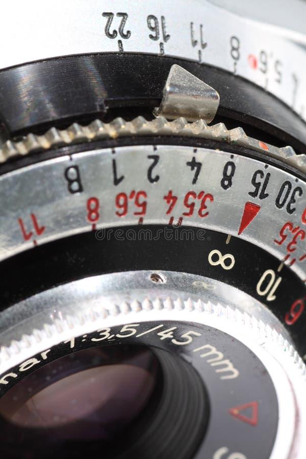 Kamera obiektyw zdjęcie stock