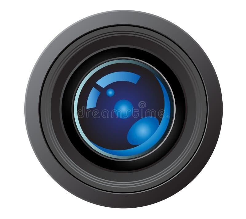 kamera obiektyw royalty ilustracja