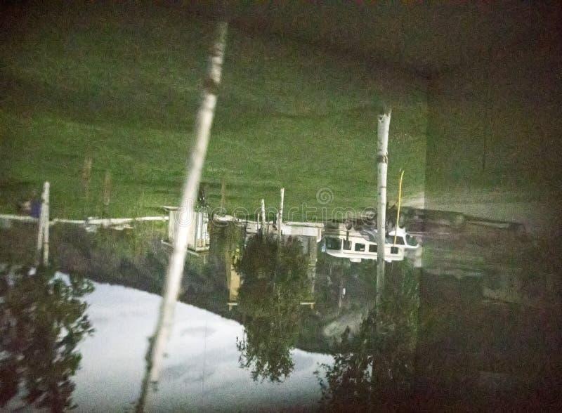 Kamera Obscura w Dawson mieście fotografia royalty free