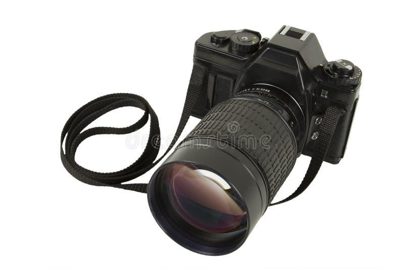 kamera soczewek slr telephoto zdjęcia royalty free