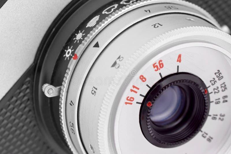 kamera soczewki stary obraz royalty free