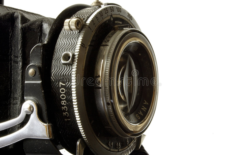 kamera soczewki stary zdjęcie royalty free