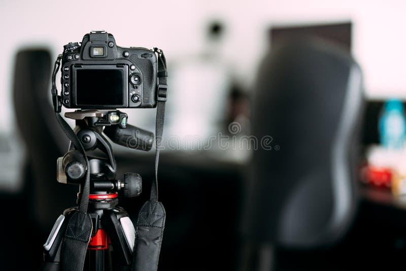 kamera som tar foto av inredesignen royaltyfri fotografi
