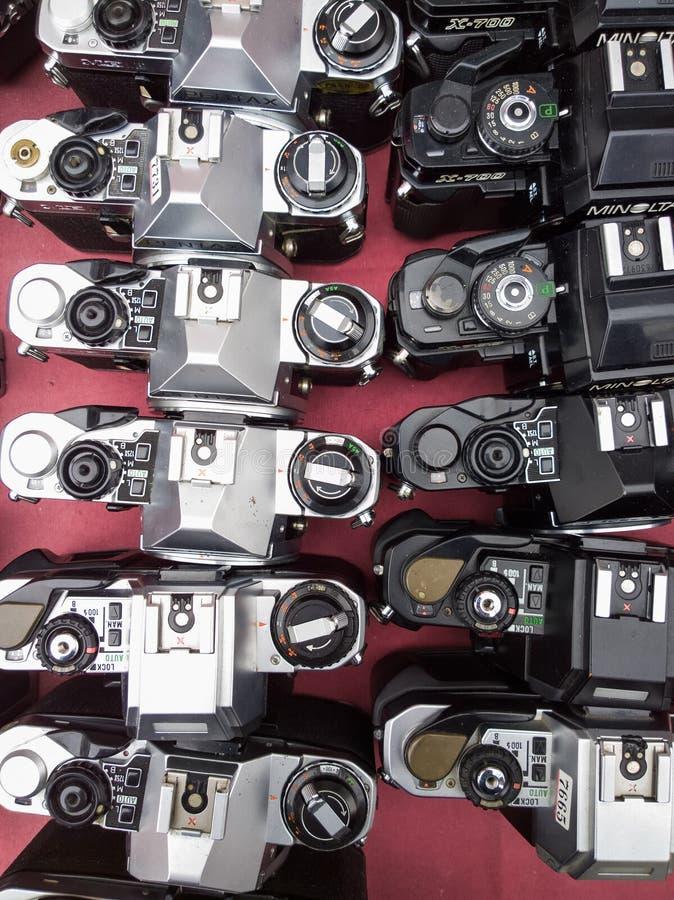 kamera stara zdjęcia stock