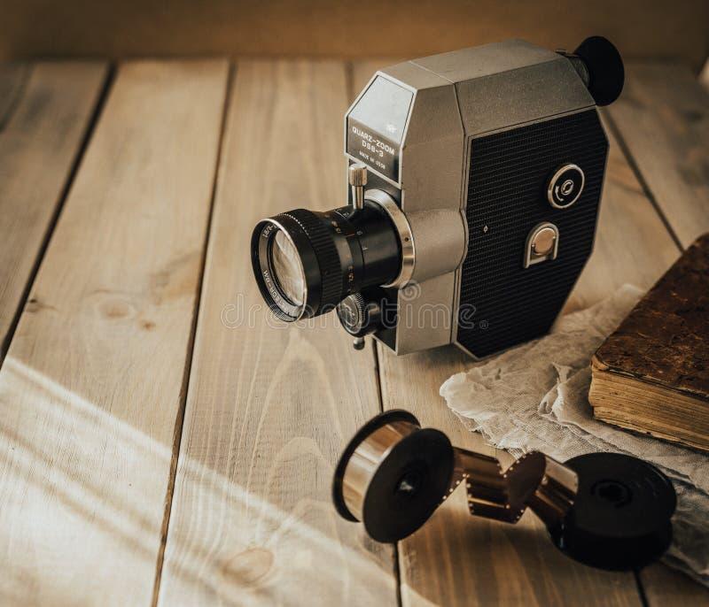 kamera stary film styl retro zdjęcia royalty free