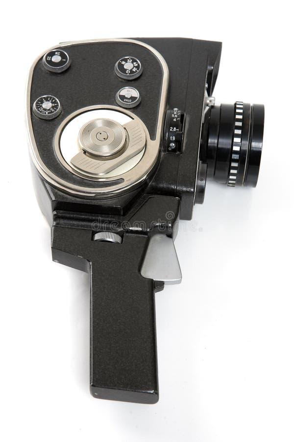 kamera starych filmów obraz stock