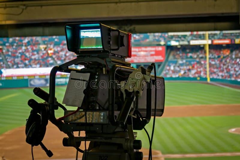 Kamera telewizyjna fotografia stock