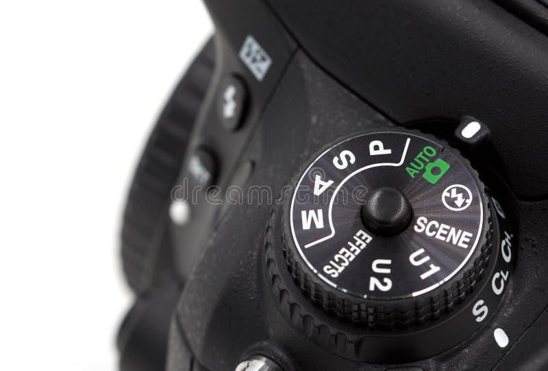 Kamera, tryb, dslr obraz stock