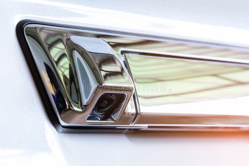 Kamera tylna samochodu obrazy royalty free