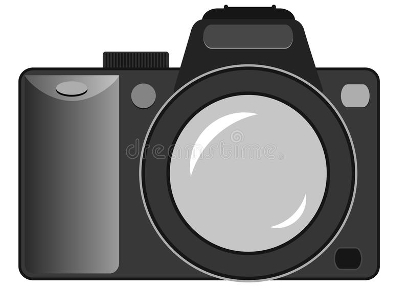 kamera wciąż vector ilustracji