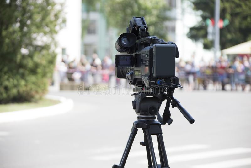 Kamera wideo obraz stock