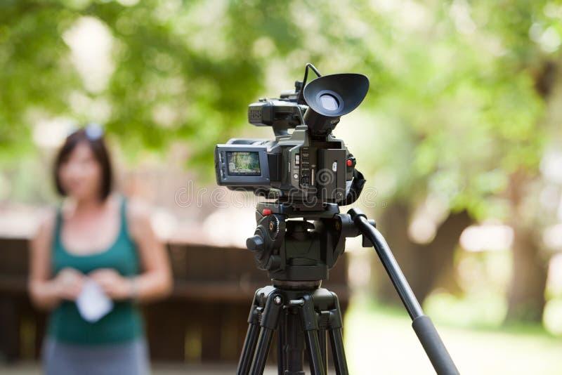 Kamera wideo zdjęcie stock