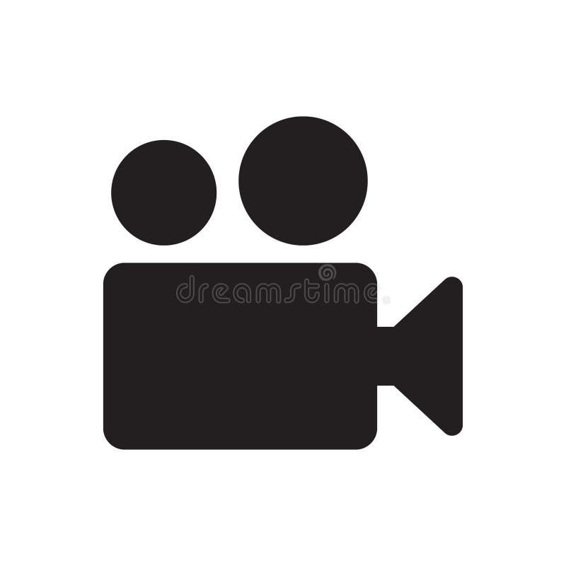 Kamera Wideo ikony wektor ilustracja wektor